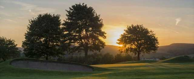 View of the 17th green at Buxton & High Peak Golf Club