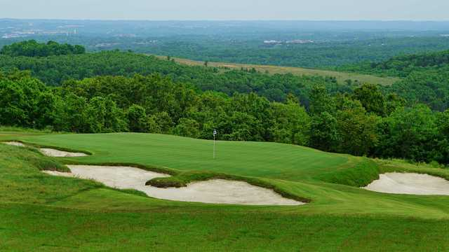 View of a green at Ozarks National