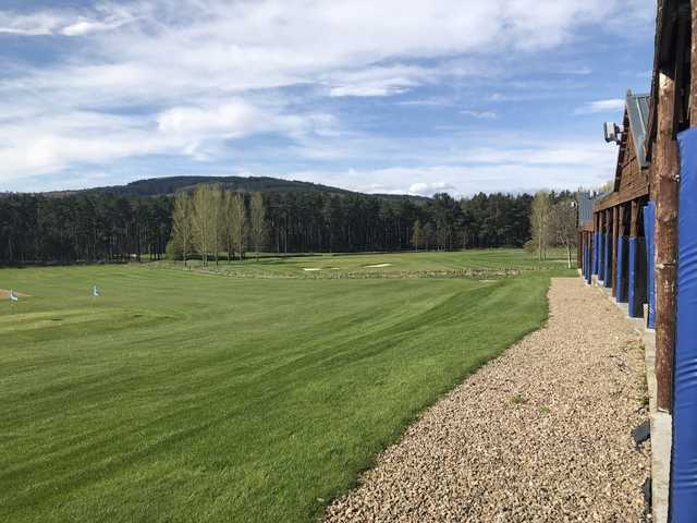 A view from Inchmarlo Golf Centre