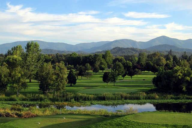 A view from Dutcher Creek Golf Course.