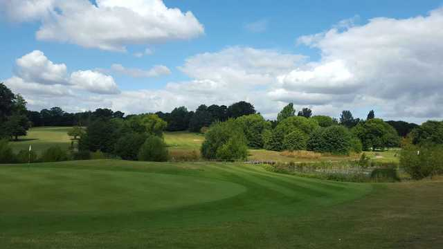 View of the 12th green at Cobtree Manor Park Golf Course