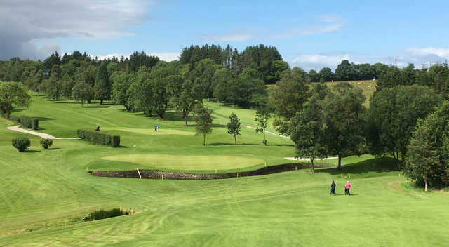 A view from Dungannon Golf Club.