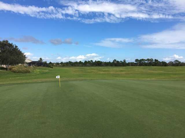 View from the putting green at The Champion Turf Club at St. James