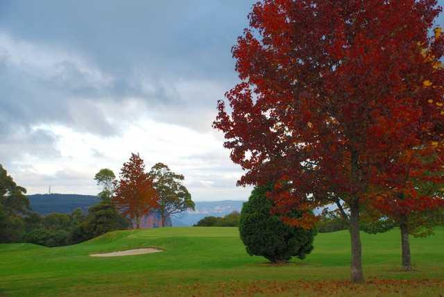 A view from Leura Golf Club