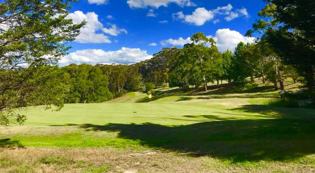 Finishing holes - 16,17 and 18 at Leura GC are a true test of stamina, fitness and golfing patience.