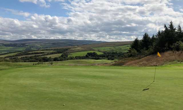 View from a green at Burnley Golf Club