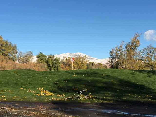 View from the 3rd green at Washoe Golf Course