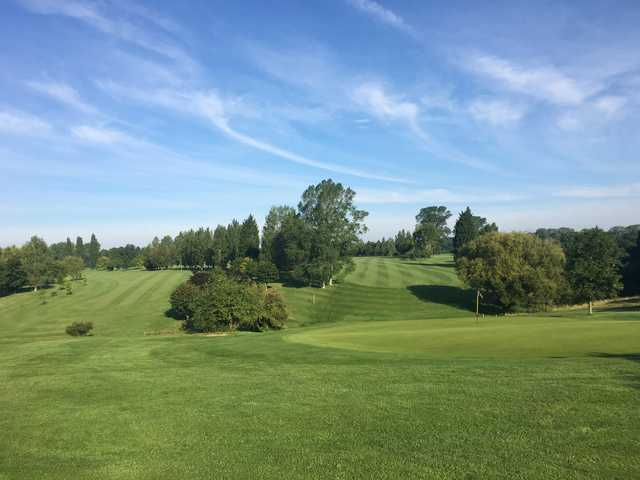 A view from Bedford & County Golf Club