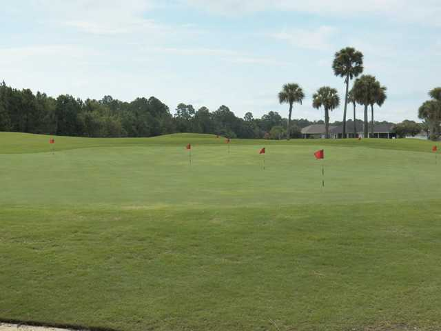 A view of the putting green at Royal St. Augustine Golf & Country Club.