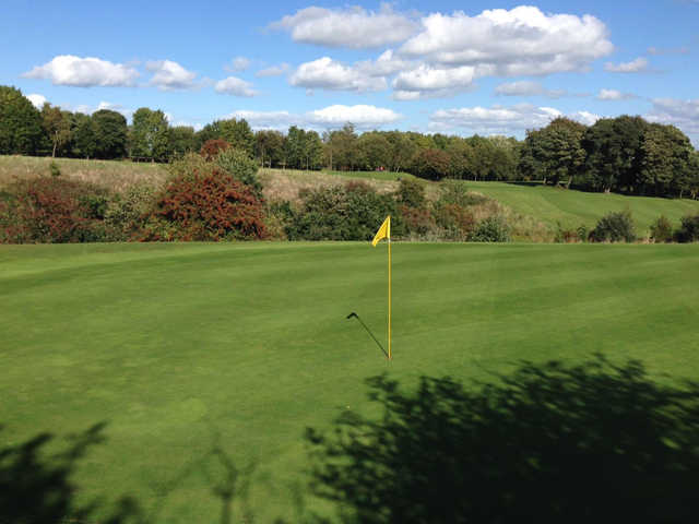 View of a green at Express Golf Centre