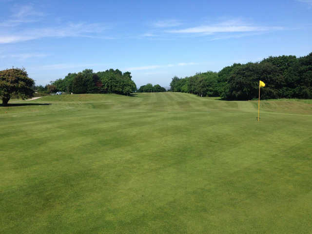 View from a green at Express Golf Centre