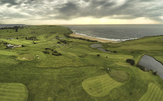 A view from Gerringong Golf Club