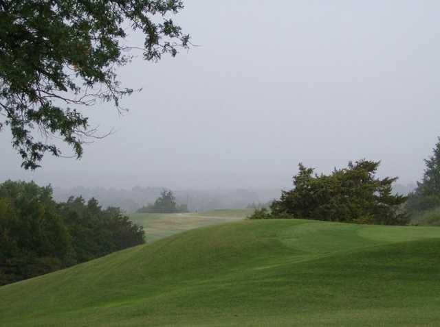 A view from Roman Nose Golf Course