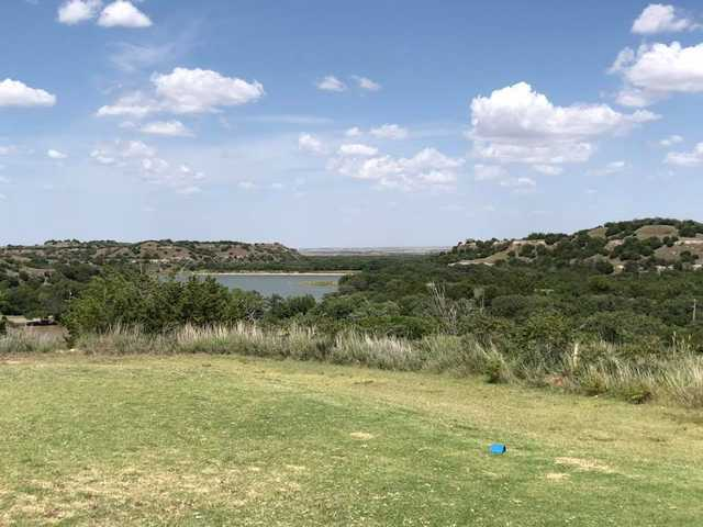 View from a tee at Roman Nose Golf Course