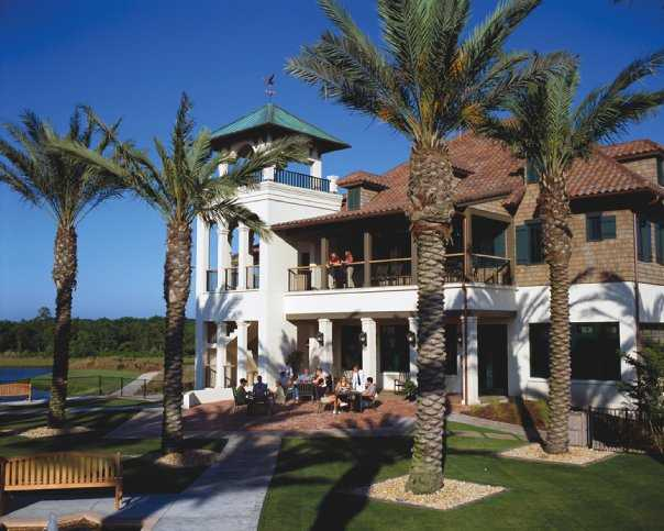 A view of the clubhouse at The Palencia Club.