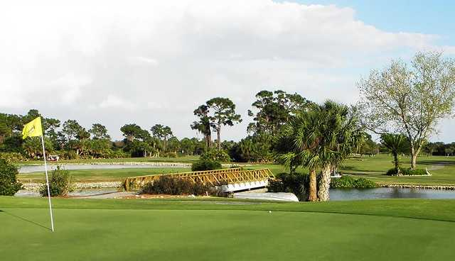View from the 17th green at Myakka Pines Golf Club Blue/Red course