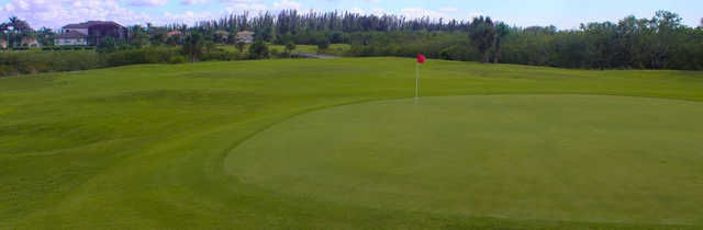 Looking back from the 6th green at Cape Royal Golf Club Prince course