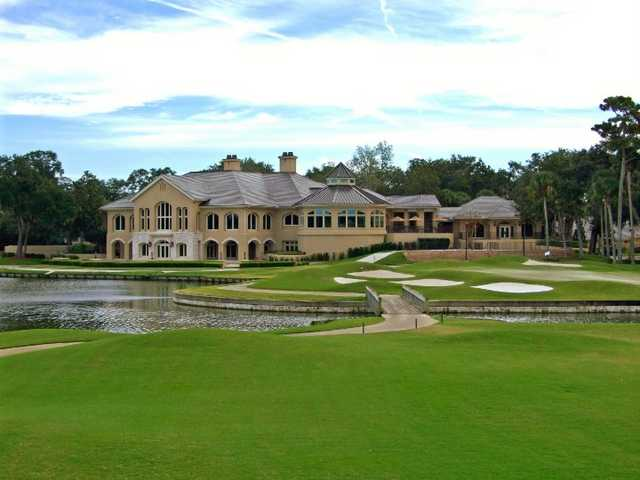 A view of the clubhouse at Plantation - Ponte Vedra