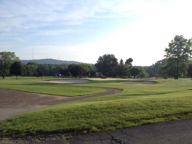 A morning day view from Wedgewood Golf Club.