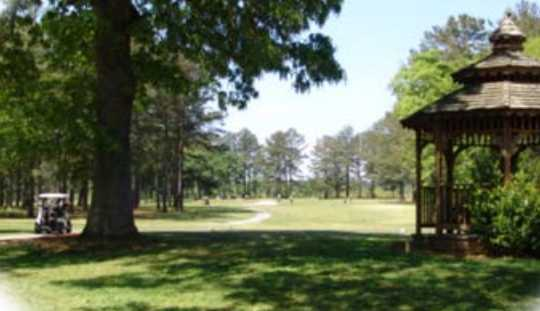 A view from Arnold Golf Course.