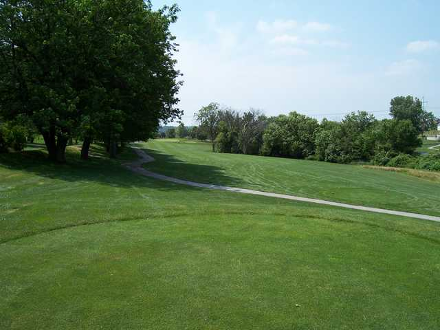 View of the 11th hole at Tara Hills Golf Course.
