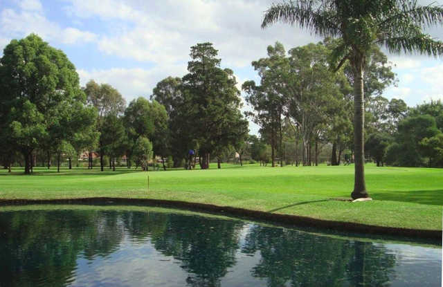 A sunny day view from Stonecutters Ridge Golf Club.