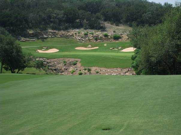 A view from the approach shot to green #12 at La Cantera Resort - The Resort Course