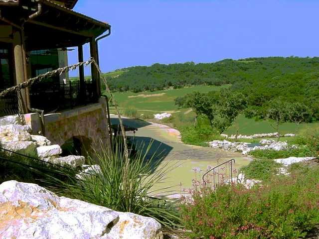 A view from the clubhouse at La Cantera Resort