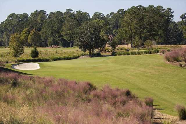 A view of  a hole at North Course from Berkeley Hall Golf Club.