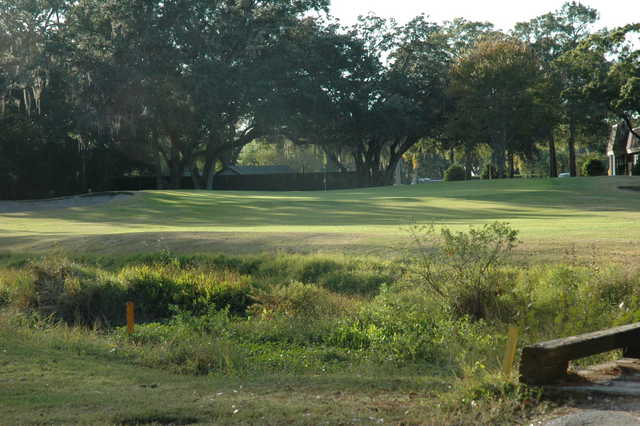View from the 18th hole at Tarpon Woods Golf Club
