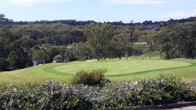 A view from Charlestown Golf Club