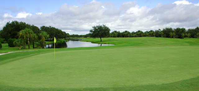 View from a green at The Preserve Golf Club