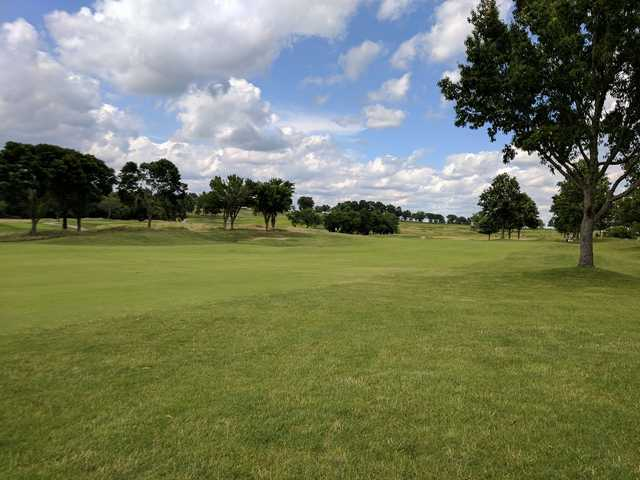 A view of a fairway at Fred Arbanas Golf Course (Bradley J. Baker).
