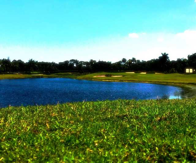 A view from Winston Trails Golf Club