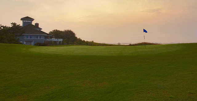 A view of a hole at Nags Head Golf Links.