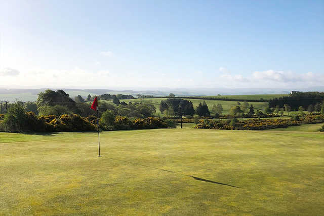 A view from Jedburgh Golf Club