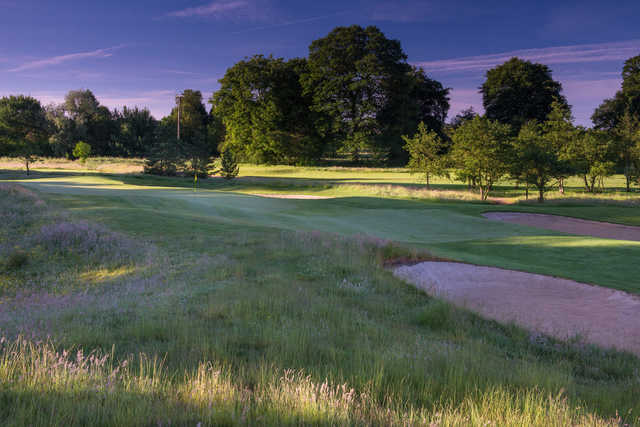 View of the 2nd green at Galgorm Castle Golf Club