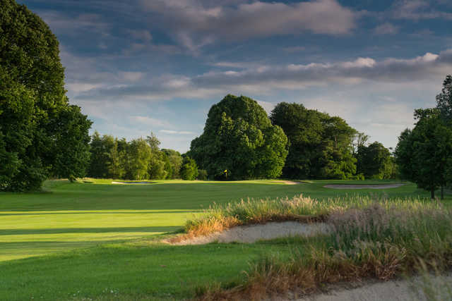 View of the 3rd green at Galgorm Castle Golf Club
