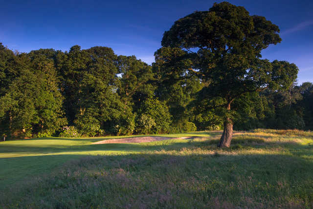 Approach to the 10th hole at Galgorm Castle Golf Club