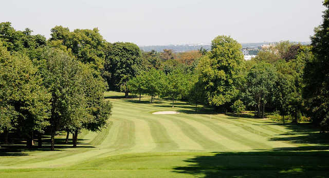A view from a tee at Newlands Golf Club.
