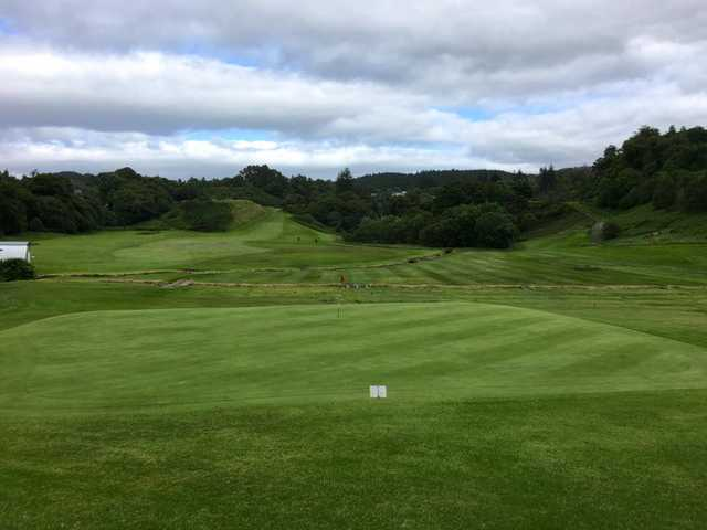 A view of a hole at Glencruitten Golf Club.