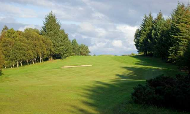 A view of hole #11 at Milngavie Golf Club (David Hamilton).
