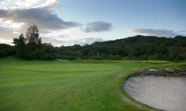 A view of the 8th green at Milngavie Golf Club (David Hamilton).