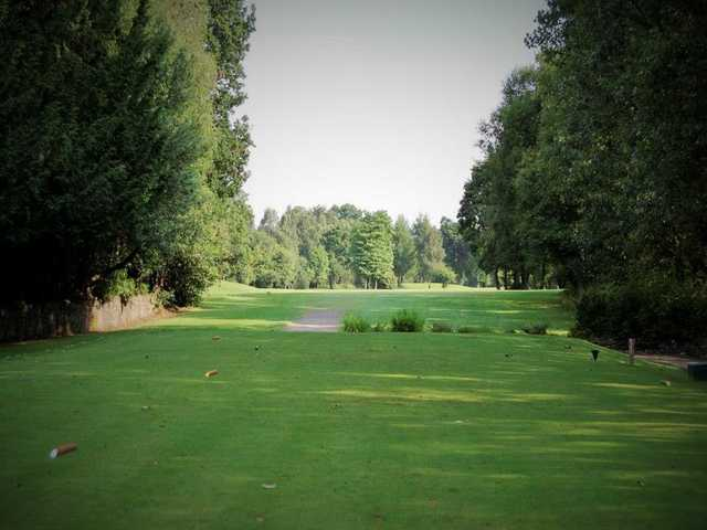 A view of the 1st tee at Renfrew Golf Club.