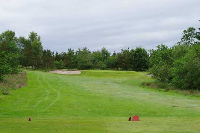 A view from tee #5 at Shotts Golf Club.