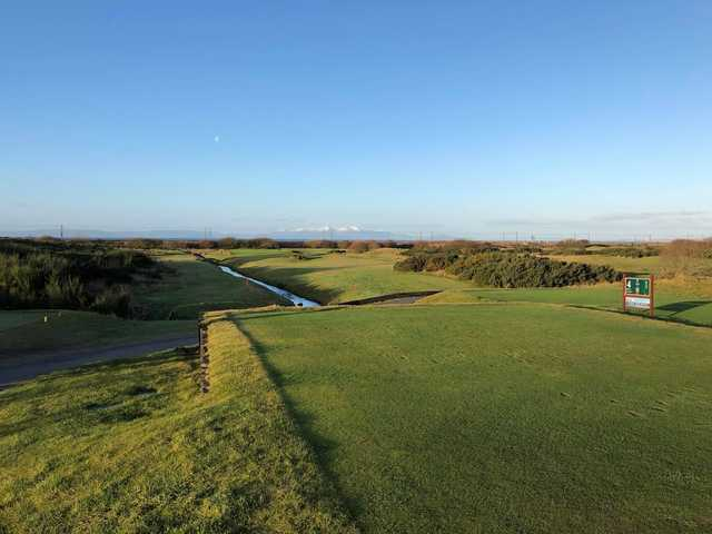 View from the 4th tee at Kilmarnock (Barassie) Golf Club - The Barassie Links