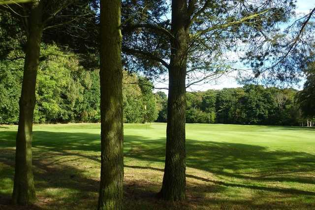 A view of a hole at Arcot Hall Golf Club.