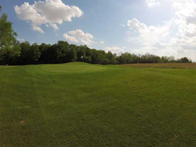 View of the 6th hole par 4 at Elwood Golf Links