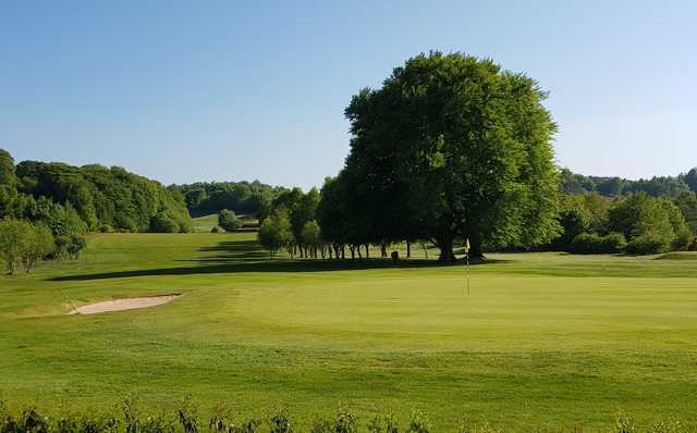 A view of a hole at Brampton Golf Club.