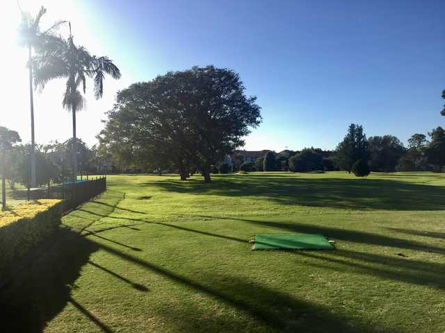 A view from Bulimba Golf Club